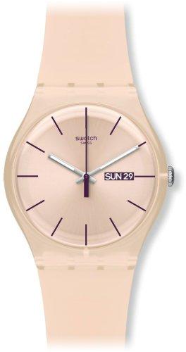 [スウォッチ]SWATCH 腕時計 NEW GENT(ニュージェント) ROSE REBEL(ローズ・レーベル) SUOT700 【正規輸入品】