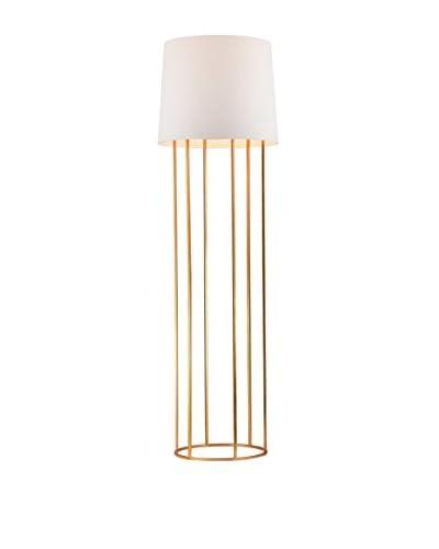 Artistic Lighting Floor Lamp, Gold Leaf