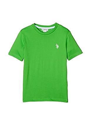 US POLO ASSN Camiseta Manga Corta (Verde)