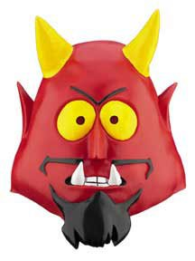 Disguise Satan Mask, One Size