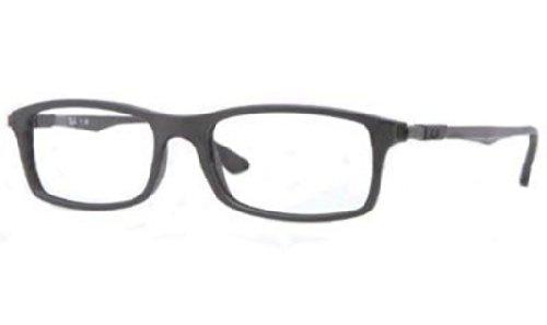 Ray Ban RX7017 Eyeglasses-5196 Matte Black-54mm