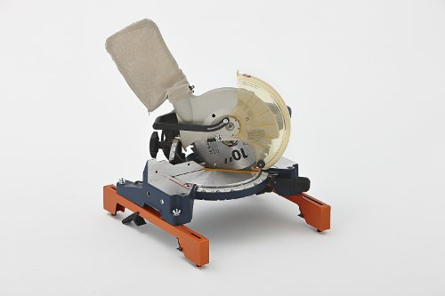 "Folding Miter Saw Stand PM-4000 Portamate – Heavy Duty 36"" Work Height Miter Saw Stand with Quick Attach Mount, 13"" Support T's and 500 lb. Capacity"
