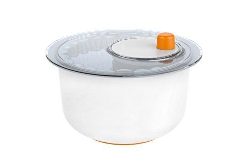 Fiskars 1014432 Set d'Essoreuse à Salade + Économe Plastique