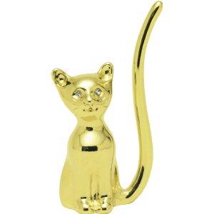 Swissco Ring Holder Siamese Cat - Gold Tone