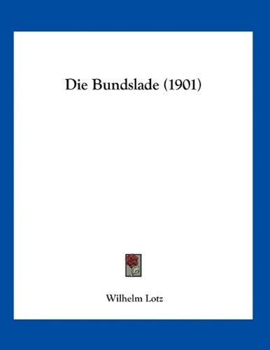 Die Bundslade (1901)