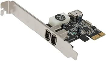 Rosewill PCIE FireWire 2+1 Ports Components