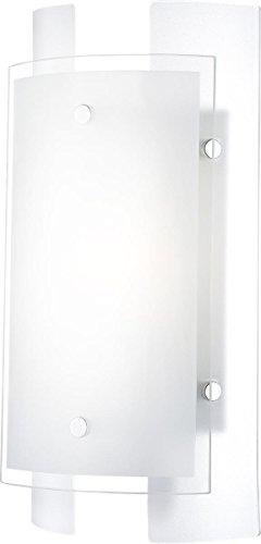 Globo lighting Applique métal verre 17x29cm E14-230V-1x40W