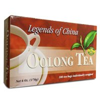 Legends Of China Oolong Tea, 100 Bags (Pack of