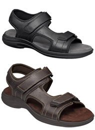 Dr. Scholl's Men's Leather Sandals