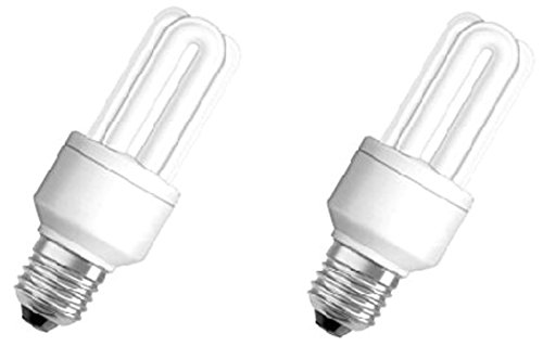 Osram 85W E27 Stick CFL Bulb (White, Pack of 2)