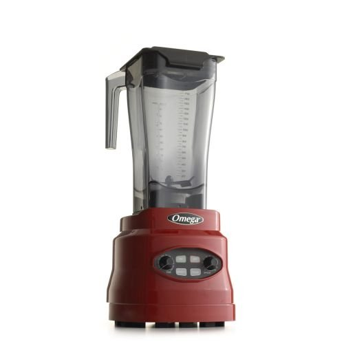 Omega Bl630R 3-Hp Variable Speed Blender, 64-Ounce, Red