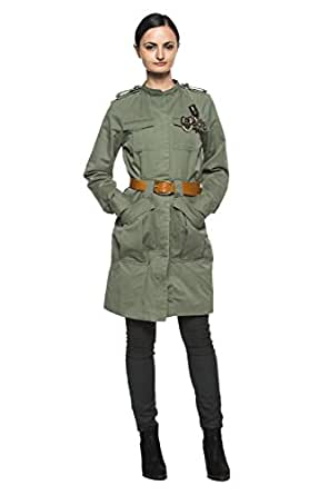 Amazon.com: Women's Army Olive Green Military Style Cargo ...