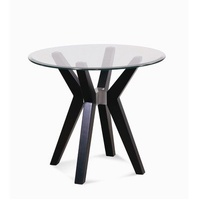 Cheap Exclamation Round End Table in Espresso (T2082-220 / T2082-076)