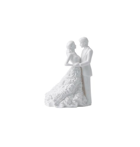 Waterford Modern Love Bride & Groom Cake Topper