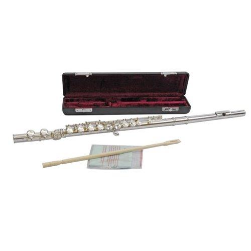 Jupiter JFL511 ESSC Flute Outfit Silver Plated