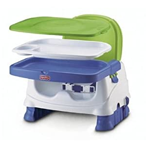 Fisher Price Healthy Care Deluxe Booster Seat Home Kitchen