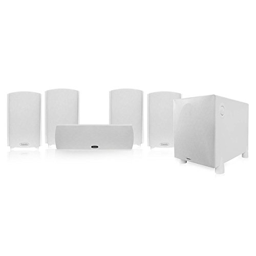 Definitive Technology ProCinema 800 5.1 Home Theater System (Gloss White)