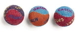 Ethical Products Burlap Balls Cat Toy 3 Pack