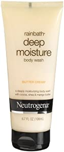 Neutrogena Rainbath Deep Moisture Body Wash, Butter Cream, 6.7 Ounce (Pack of 3)