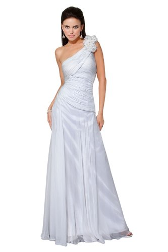 White One Shoulder Cocktail Dress
