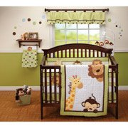 Little Bedding By Nojo Jungle Pals 3Pc Crib Bedding Set front-46739