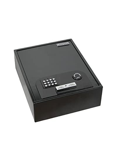 Honeywell Steel Security Drawer Safe, Black