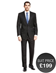 Collezione Notch Lapel 2 Button Jacket with Wool