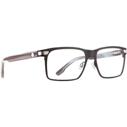 Spy Optic Jude Rx Eyeglasses - Spy Optic Adult Rx Optical Frame - Matte Black/Greystone / Size 55-17-145 front-649662