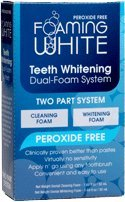 Teeth Whitening FOAM SYSTEM- NonPeroxide = No Sensitivity, Easy to Use!