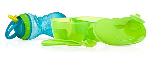 Nuby 4 Piece Toddler Mealtime Set