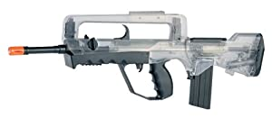 Soft Air Foreign Legion's Famas Spring Powered Airsoft Rifle (Clear)