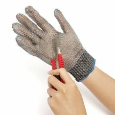 WALID@Safety Cut Proof Stab Resistant Stainless Steel Metal Mesh Butcher Gloves (Atlas Thermal Gloves Xl compare prices)