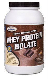 100% Natural CFM Whey Protein Isolate 2lb- chocolate