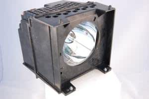 Generic replacement for Toshiba 65HM167 rear projector TV lamp with housing