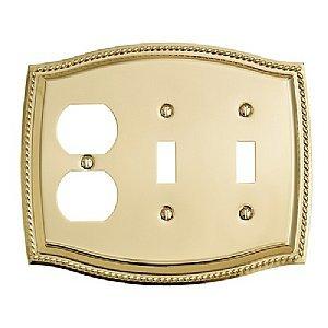 Amazon.com: Gold - Compleat Baldwin Brass Center / Wall Plates