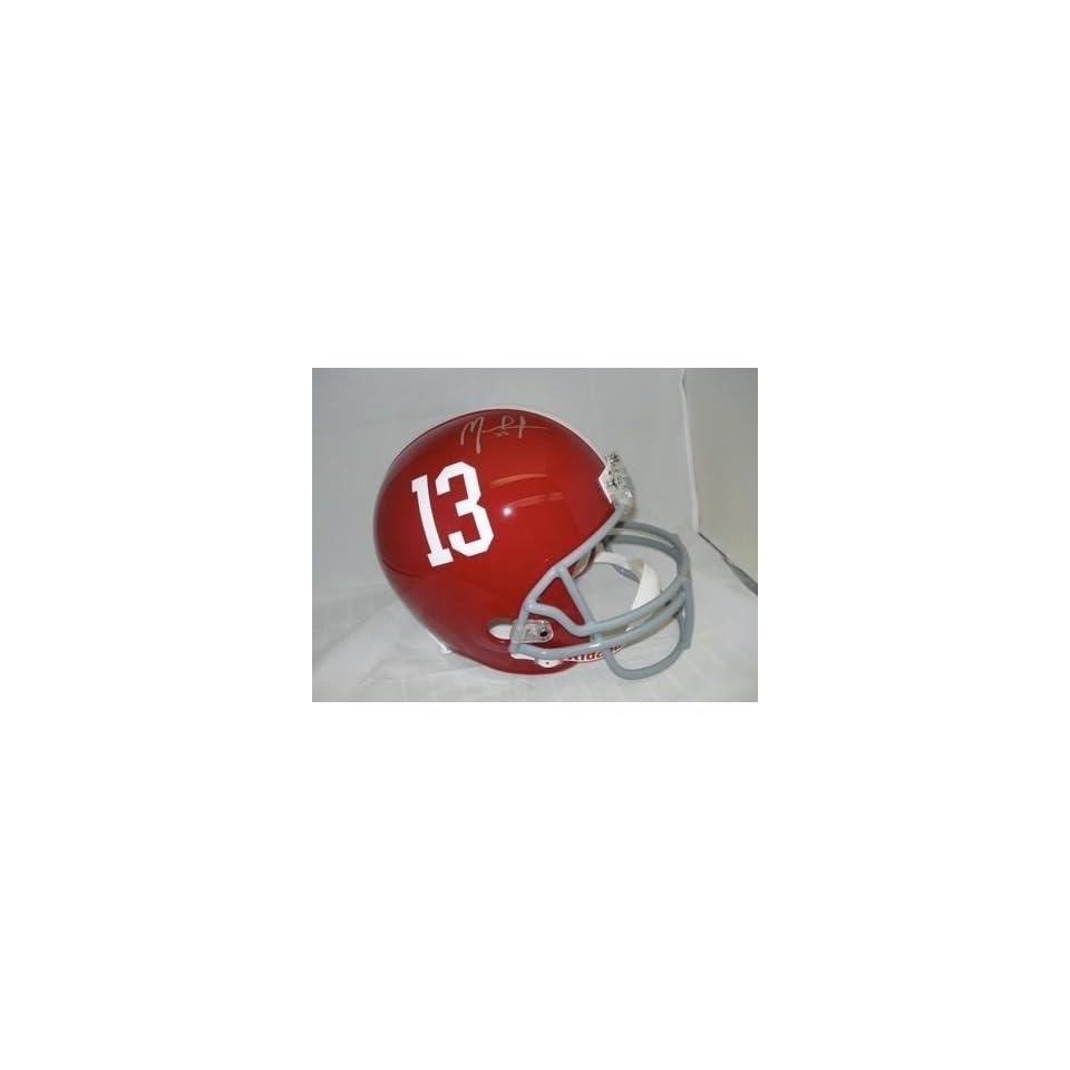 MARK INGRAM Signed Alabama Crimson Tide FS Helmet PSA   Autographed College Helmets