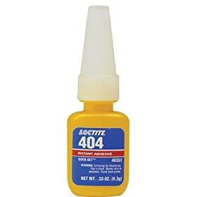 1/3-OZ QUICK SET 404INDUSTRIAL ADHESIVE