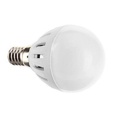 E14 G45 5W 15X2835Smd 480Lm 3000K Warm White Light Led Globe Bulb (220-240V)