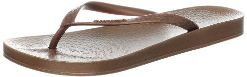Bronze Flip Flops