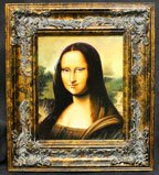 Haunted Picture with Frame - Mona Lisa - Watches You Everywhere You Go - Magic Trick