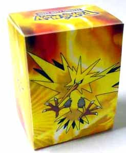 Pokemon Trading Cards Official Zapdos Deck Box - 1