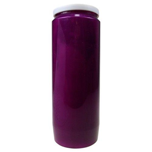 Lampe de Sanctuaire 9 Jours - Violette - Carton de 6