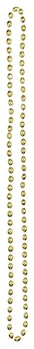 Gold 30 in. Bead Necklace