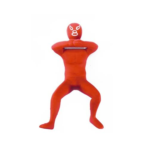 Kikkerland mexican luchador mask wrestler bottle opener german suplex red new ebay - Mexican wrestler bottle opener ...