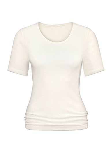 Mey Primera Off-White Short Sleeve Top 56501 16 UK (42 EU)