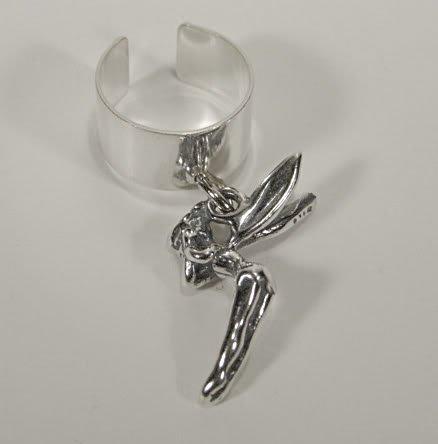 Sterling Silver Fairy Ear Cuff
