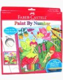 Faber-Castell - Paint By Number Fairy Garden Art Kit - Premium Kids Crafts