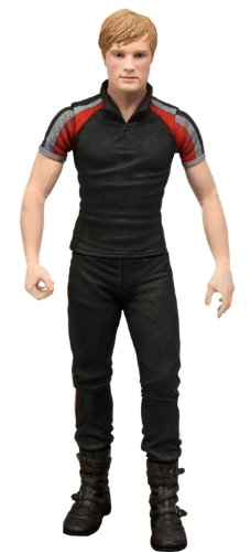 "The Hunger Games Movie ""Peeta in Training Day Outfit "" 7 inch Action Figures"