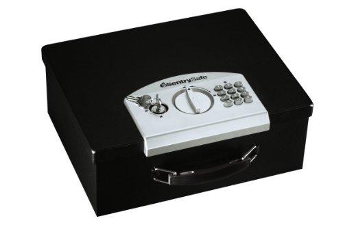 Sentrysafe Esb-3 Electronic Security Box, 0.23 Cubic Feet, Black