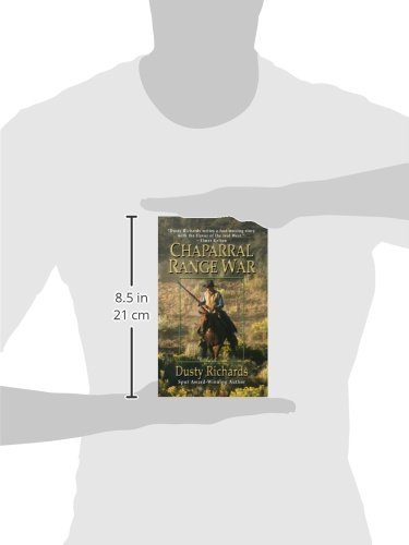 Chaparral Range War (Thorndike Large Print Western Series)